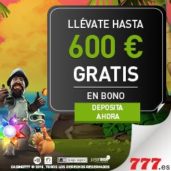 Logo by UP TO €600 WELCOME BONUS AT 777.es
