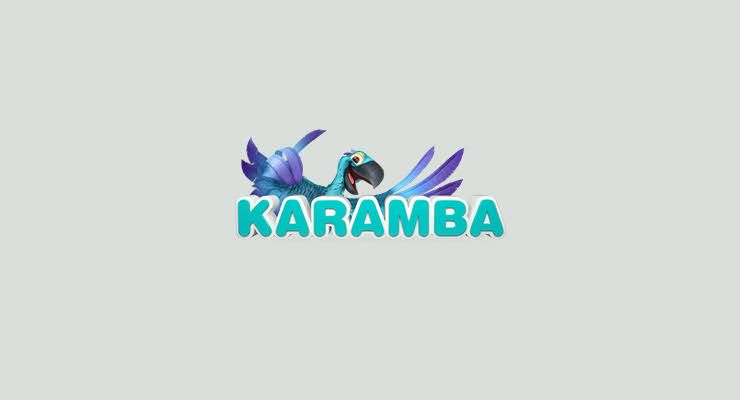 Logo by 100% BONUS PLUS 100 SPINS AT KARAMBA CASINO