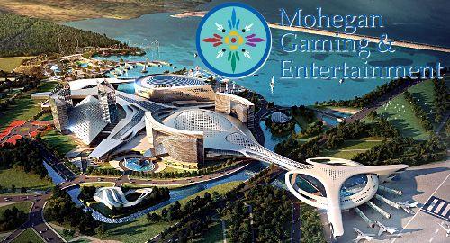 Logo by Mohegan Gaming Delays Opening Of Korea Casino Complex Until 2023