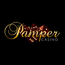 Logo by 100% Welcome bonus at Pamper Casino