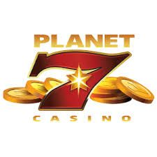 Logo by 350% BONUS PLUS 55 FREE SPINS AT PLANET7 CASINO