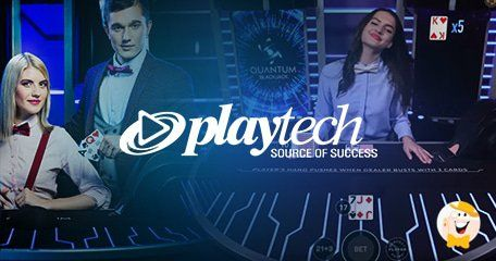 Logo by PLAYTECH LAUNCHES TWO NEW LIVE GAMES